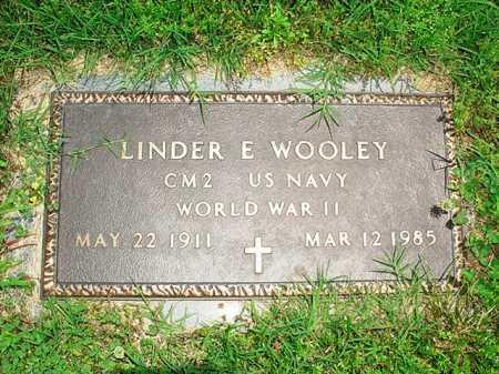 WOOLEY (VETERAN WWII), LINDER E. - Benton County, Arkansas | LINDER E. WOOLEY (VETERAN WWII) - Arkansas Gravestone Photos