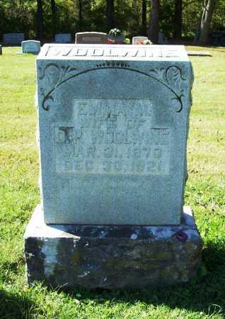 WOOLWINE, EMMA M. - Benton County, Arkansas | EMMA M. WOOLWINE - Arkansas Gravestone Photos