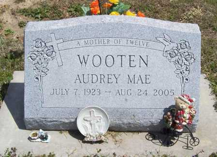 HURT WOOTEN, AUDREY MAE - Benton County, Arkansas | AUDREY MAE HURT WOOTEN - Arkansas Gravestone Photos
