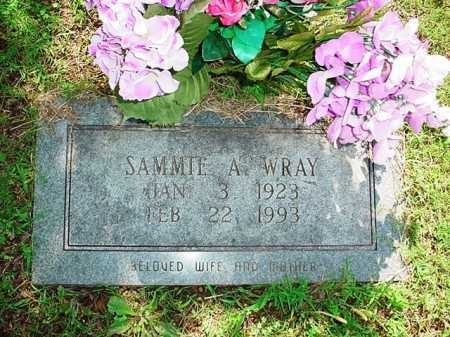 WRAY, SAMMIE A. - Benton County, Arkansas | SAMMIE A. WRAY - Arkansas Gravestone Photos