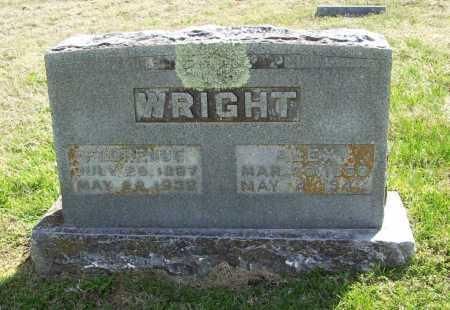 WRIGHT, FLORENCE - Benton County, Arkansas | FLORENCE WRIGHT - Arkansas Gravestone Photos