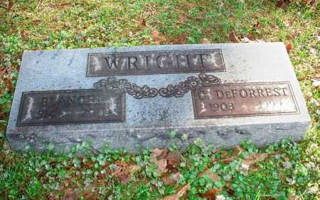 WRIGHT, C. DEFORREST - Benton County, Arkansas | C. DEFORREST WRIGHT - Arkansas Gravestone Photos