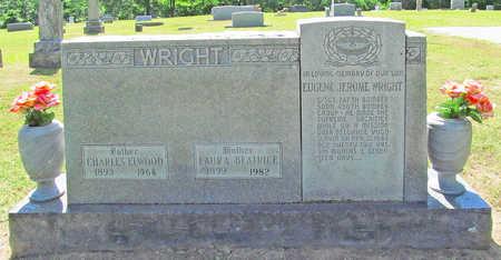 WRIGHT, CHARLES ELWOOD - Benton County, Arkansas | CHARLES ELWOOD WRIGHT - Arkansas Gravestone Photos