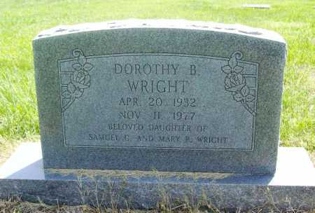 WRIGHT, DOROTHY B. - Benton County, Arkansas | DOROTHY B. WRIGHT - Arkansas Gravestone Photos