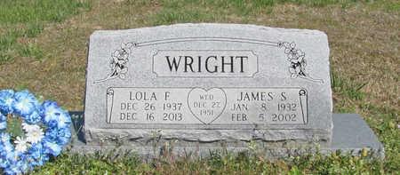 WRIGHT, JAMES S - Benton County, Arkansas | JAMES S WRIGHT - Arkansas Gravestone Photos