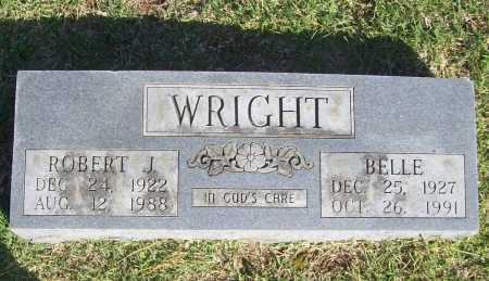 WRIGHT, ROBERT J. - Benton County, Arkansas | ROBERT J. WRIGHT - Arkansas Gravestone Photos