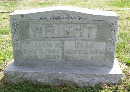 WRIGHT, WILLIAM MARION - Benton County, Arkansas | WILLIAM MARION WRIGHT - Arkansas Gravestone Photos