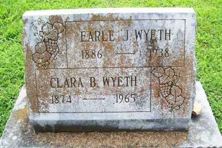WYETH, CLARA B. - Benton County, Arkansas | CLARA B. WYETH - Arkansas Gravestone Photos
