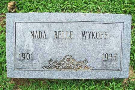 WYKOFF, NADA BELLE - Benton County, Arkansas   NADA BELLE WYKOFF - Arkansas Gravestone Photos
