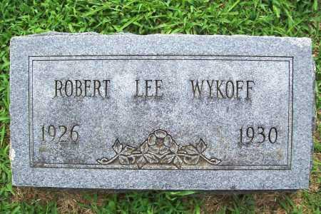 WYKOFF, ROBERT LEE - Benton County, Arkansas | ROBERT LEE WYKOFF - Arkansas Gravestone Photos
