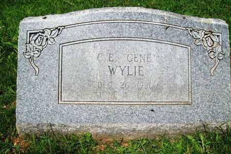 "WYLIE, C. E. ""GENE"" - Benton County, Arkansas | C. E. ""GENE"" WYLIE - Arkansas Gravestone Photos"