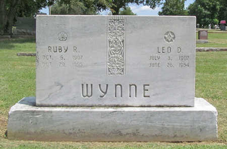 ROBERTSON WYNNE, RUBY - Benton County, Arkansas   RUBY ROBERTSON WYNNE - Arkansas Gravestone Photos
