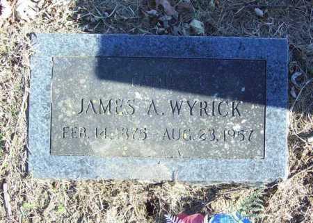 WYRICK, JAMES A. - Benton County, Arkansas | JAMES A. WYRICK - Arkansas Gravestone Photos