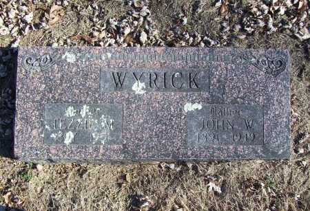 WYRICK, TEZZIE M. - Benton County, Arkansas | TEZZIE M. WYRICK - Arkansas Gravestone Photos