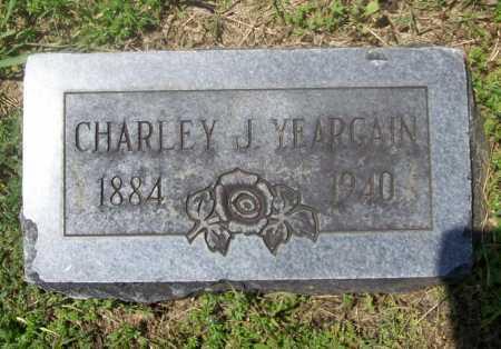 YEARGAIN, CHARLEY J. - Benton County, Arkansas | CHARLEY J. YEARGAIN - Arkansas Gravestone Photos