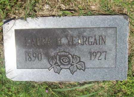 YEARGAIN, LAURA H. - Benton County, Arkansas   LAURA H. YEARGAIN - Arkansas Gravestone Photos