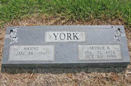 YORK, ARTHUR BURTON JR. - Benton County, Arkansas | ARTHUR BURTON JR. YORK - Arkansas Gravestone Photos