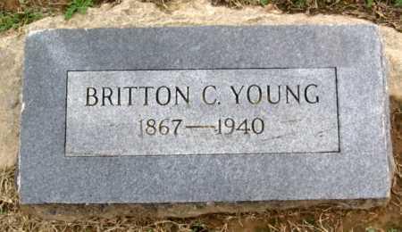 YOUNG, BRITTON C. - Benton County, Arkansas | BRITTON C. YOUNG - Arkansas Gravestone Photos