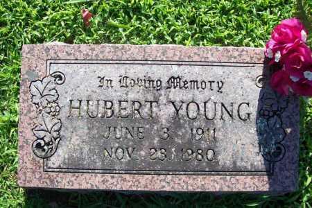 YOUNG, HUBERT - Benton County, Arkansas   HUBERT YOUNG - Arkansas Gravestone Photos
