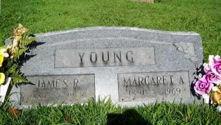 YOUNG, MARGARET A. - Benton County, Arkansas | MARGARET A. YOUNG - Arkansas Gravestone Photos