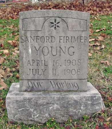 YOUNG, SANFORD FIRIMER - Benton County, Arkansas   SANFORD FIRIMER YOUNG - Arkansas Gravestone Photos