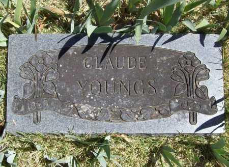 YOUNGS, CLAUDE - Benton County, Arkansas | CLAUDE YOUNGS - Arkansas Gravestone Photos