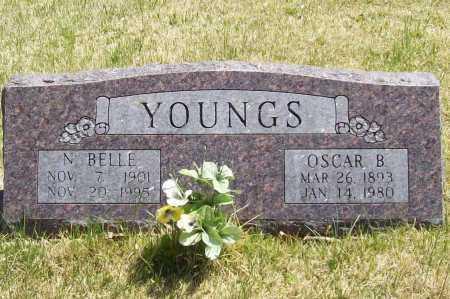 YOUNGS, N. BELLE - Benton County, Arkansas | N. BELLE YOUNGS - Arkansas Gravestone Photos