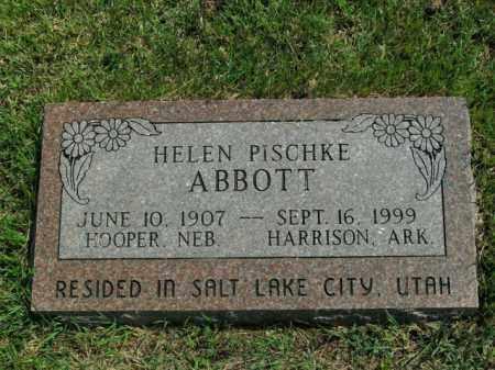 ABBOTT, HELEN - Boone County, Arkansas | HELEN ABBOTT - Arkansas Gravestone Photos