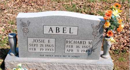 ABEL, JOSIE  E. - Boone County, Arkansas | JOSIE  E. ABEL - Arkansas Gravestone Photos