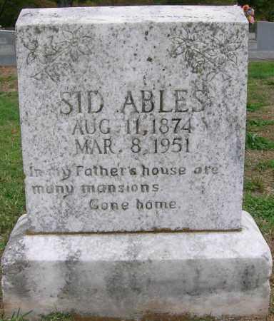 ABLES, SID - Boone County, Arkansas | SID ABLES - Arkansas Gravestone Photos