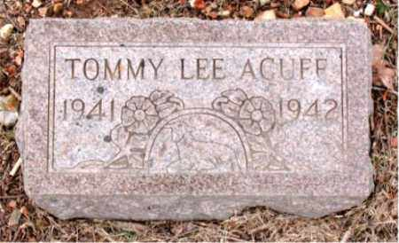 ACUFF, TOMMY LEE - Boone County, Arkansas | TOMMY LEE ACUFF - Arkansas Gravestone Photos