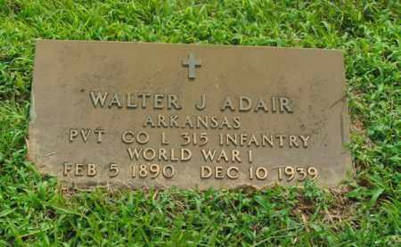 ADAIR  (VETERAN WWI), WALTER J. - Boone County, Arkansas   WALTER J. ADAIR  (VETERAN WWI) - Arkansas Gravestone Photos