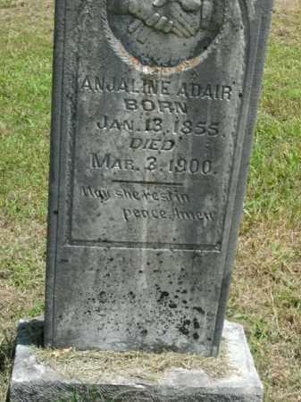 ADAIR, ANJALINE - Boone County, Arkansas | ANJALINE ADAIR - Arkansas Gravestone Photos
