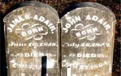 ADAIR, JOHN - Boone County, Arkansas | JOHN ADAIR - Arkansas Gravestone Photos
