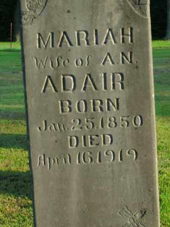 ADAIR, MARIAH - Boone County, Arkansas | MARIAH ADAIR - Arkansas Gravestone Photos