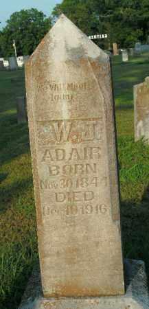 ADAIR, W. JASPER - Boone County, Arkansas | W. JASPER ADAIR - Arkansas Gravestone Photos