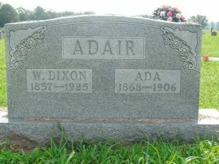 ADAIR, WALTER DIXON - Boone County, Arkansas | WALTER DIXON ADAIR - Arkansas Gravestone Photos
