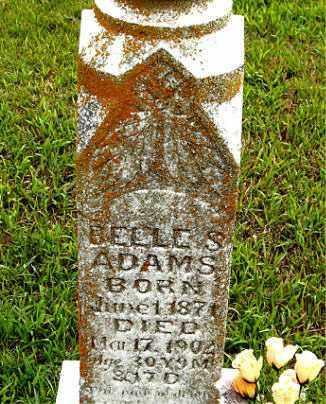 ADAMS, BELLE - Boone County, Arkansas | BELLE ADAMS - Arkansas Gravestone Photos