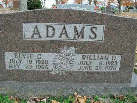 ADAMS, WILLIAM D. - Boone County, Arkansas | WILLIAM D. ADAMS - Arkansas Gravestone Photos