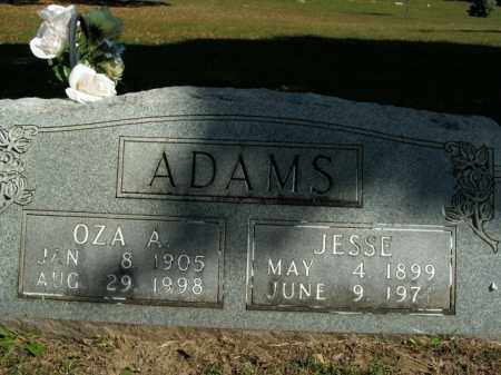 ADAMS, OZA A. - Boone County, Arkansas | OZA A. ADAMS - Arkansas Gravestone Photos
