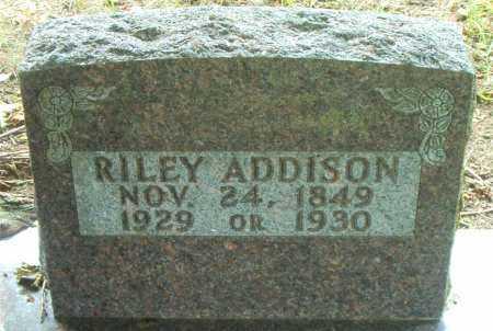 ADDISON, RILEY - Boone County, Arkansas | RILEY ADDISON - Arkansas Gravestone Photos
