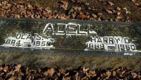 ADELL, OLA S. - Boone County, Arkansas | OLA S. ADELL - Arkansas Gravestone Photos