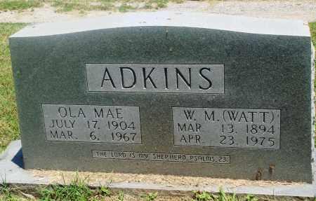 ADKINS, OLA MAE - Boone County, Arkansas | OLA MAE ADKINS - Arkansas Gravestone Photos
