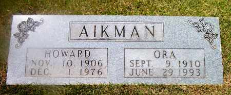 AIKMAN, ORA - Boone County, Arkansas | ORA AIKMAN - Arkansas Gravestone Photos