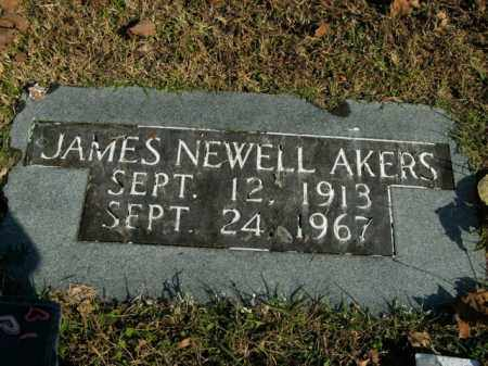 AKERS, JAMES NEWELL - Boone County, Arkansas | JAMES NEWELL AKERS - Arkansas Gravestone Photos