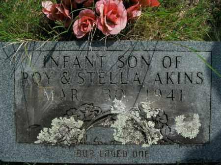 AKINS, INFANT SON - Boone County, Arkansas | INFANT SON AKINS - Arkansas Gravestone Photos