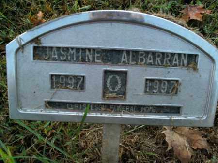 ALBARRAN, JASMINE - Boone County, Arkansas   JASMINE ALBARRAN - Arkansas Gravestone Photos