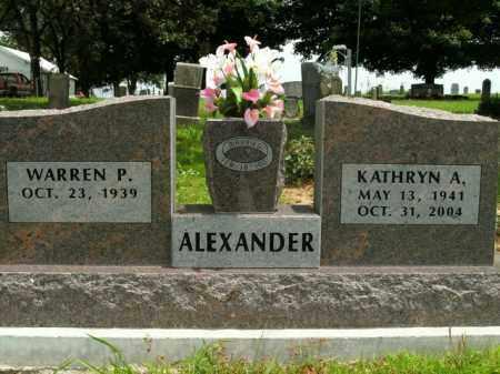 ALEXANDER, KATHRYN A. - Boone County, Arkansas   KATHRYN A. ALEXANDER - Arkansas Gravestone Photos
