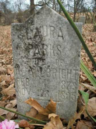 PARKS ALLBRIGHT, LAURA - Boone County, Arkansas | LAURA PARKS ALLBRIGHT - Arkansas Gravestone Photos