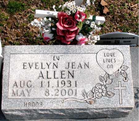 HAINES ALLEN, EVELYN JEAN - Boone County, Arkansas | EVELYN JEAN HAINES ALLEN - Arkansas Gravestone Photos
